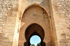 Puerta DE Toledo in Ciudad Real, Spanje Stock Foto