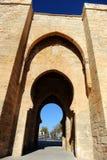 Puerta de Toledo en Ciudad Real, España Imagen de archivo
