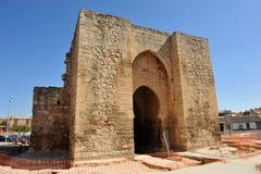 Puerta de Toledo en Ciudad Real, España Imagen de archivo libre de regalías