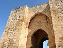 Puerta de Toledo en Ciudad Real, España Foto de archivo libre de regalías
