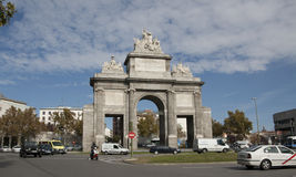 Puerta de Toledo in Madrid Stock Photography