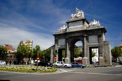 Puerta DE Toledo, Madrid Stock Foto's