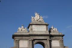 Puerta de Toledo, Madrid, Spagna Immagine Stock Libera da Diritti