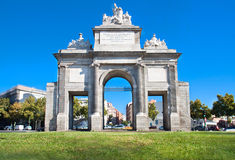 Puerta de Toledo, Madrid, Spain Royalty Free Stock Images