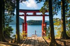 Puerta de Torii Imágenes de archivo libres de regalías