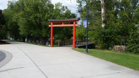 Puerta de Torii foto de archivo