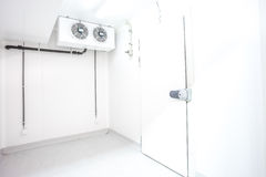 Puerta de un refrigerador Fotos de archivo