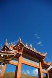 Puerta de un templo Foto de archivo