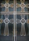 Puerta de una iglesia Fotografía de archivo