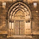 Puerta de Vysehrad imagen de archivo