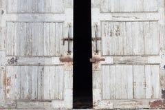 Puerta de Warehouse imágenes de archivo libres de regalías