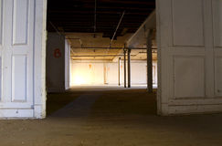 Puerta de Warehouse Fotos de archivo libres de regalías