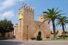 Puerta de Xara en Alcudia, Majorca Foto de archivo