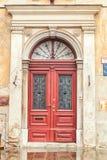Puerta decorativa Fotos de archivo libres de regalías