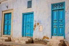 Puerta decorativa en Kairouan, Túnez Fotografía de archivo libre de regalías