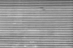 Puerta del almacenamiento del metal Fotos de archivo