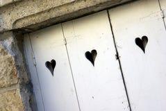 Puerta del amor foto de archivo