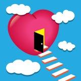 Puerta del amor Fotografía de archivo libre de regalías