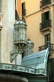 Puerta del Angel street  Barcelona Royalty Free Stock Image
