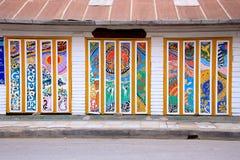 Puerta del arte Foto de archivo libre de regalías