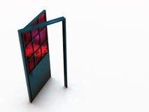 Puerta del asunto Stock de ilustración