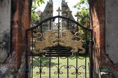 Puerta del Balinese Fotografía de archivo