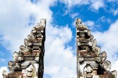 Puerta del Balinese Fotos de archivo