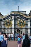 Puerta del Buckingham Palace Imagen de archivo