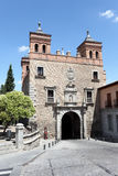 Puerta del Cambron à Toledo, Espagne photo stock