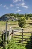 Puerta del campo cerca de Langcliffe Imagen de archivo libre de regalías