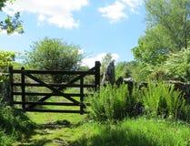Puerta del campo de Dartmoor Fotos de archivo