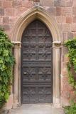 Puerta del castillo Fotos de archivo libres de regalías