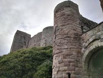Puerta del castillo Foto de archivo libre de regalías