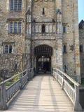 Puerta del castillo de rey Fotografía de archivo