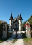 Puerta del castillo - Italia Imagen de archivo libre de regalías