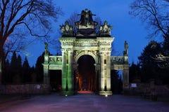 Puerta del cementerio Imagen de archivo