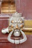 Puerta del chino tradicional Foto de archivo libre de regalías