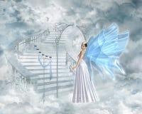 Puerta del cielo Foto de archivo libre de regalías