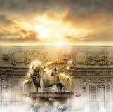 Puerta del cielo Imagen de archivo
