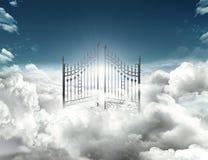 Puerta del cielo fotografía de archivo libre de regalías