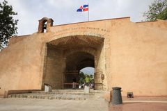 Puerta del Conde, Dominikanska republiken Royaltyfria Bilder