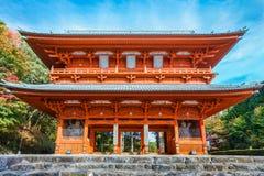 Puerta del demonio, la entrada principal antigua a Koyasan (Mt Koya) en Wakayama Fotografía de archivo libre de regalías