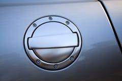 Puerta del depósito de gasolina Foto de archivo libre de regalías
