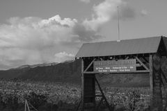 Puerta del desierto Imagen de archivo