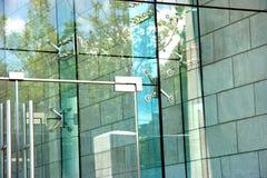 Puerta del diseño de asunto Fotografía de archivo