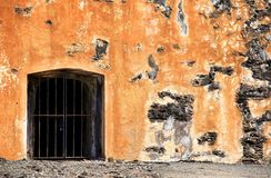 Puerta del Dungeon Imagen de archivo