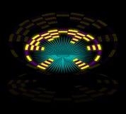 Puerta del espacio ilustración del vector