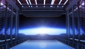 Puerta del espacio Imagen de archivo