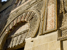 Puerta del Espiritu Santo della moschea della cattedrale, Moschea de Cordo Immagine Stock