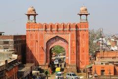 Puerta del este, ciudad rosada, Jaipur Foto de archivo